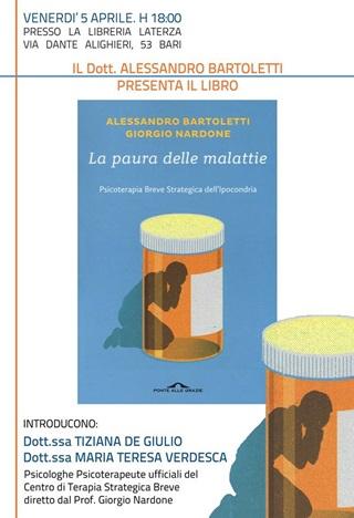 presentazione libro paura delle malattie